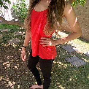 Red Abound tank top